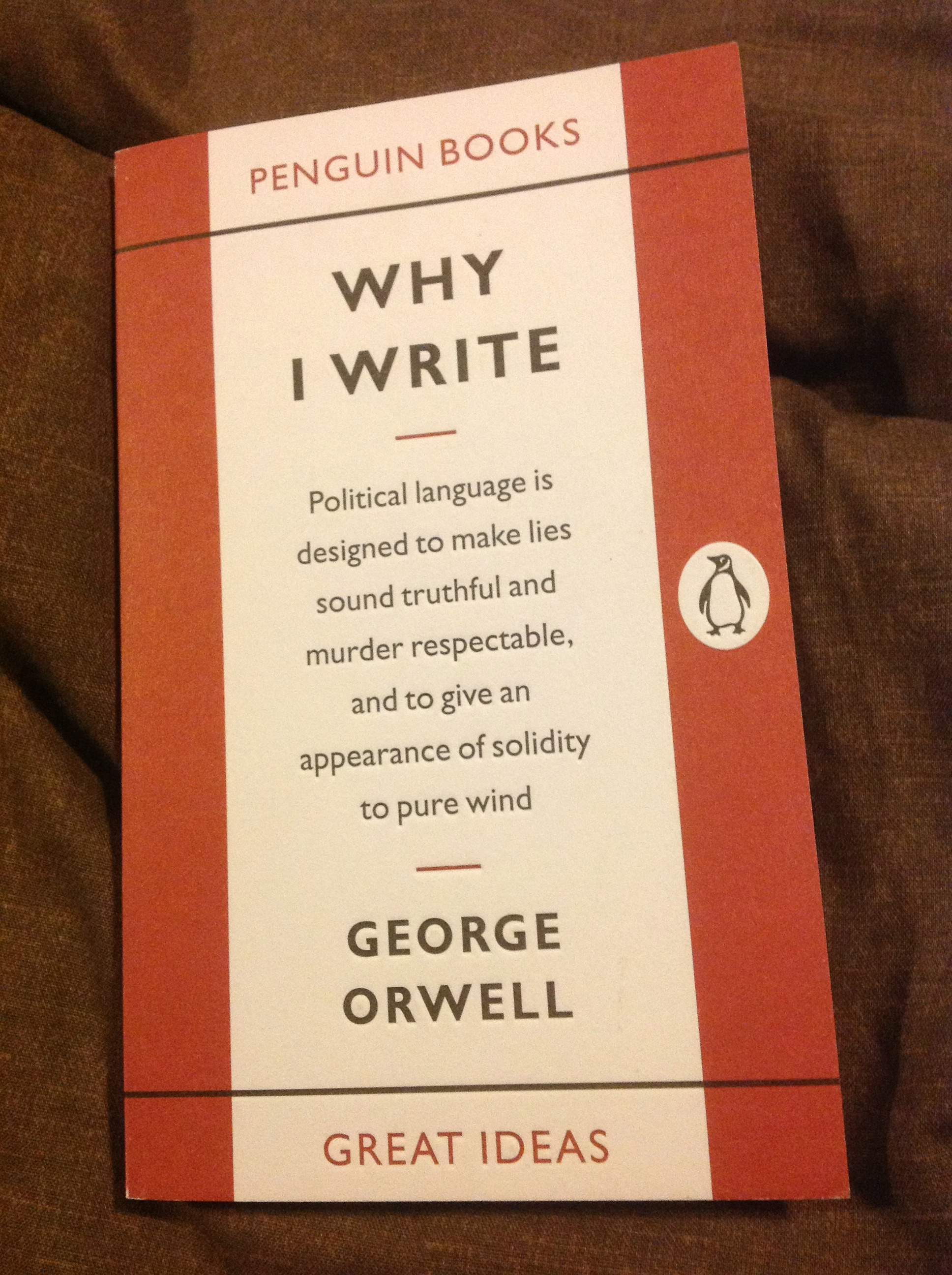 politics and george orwell essay