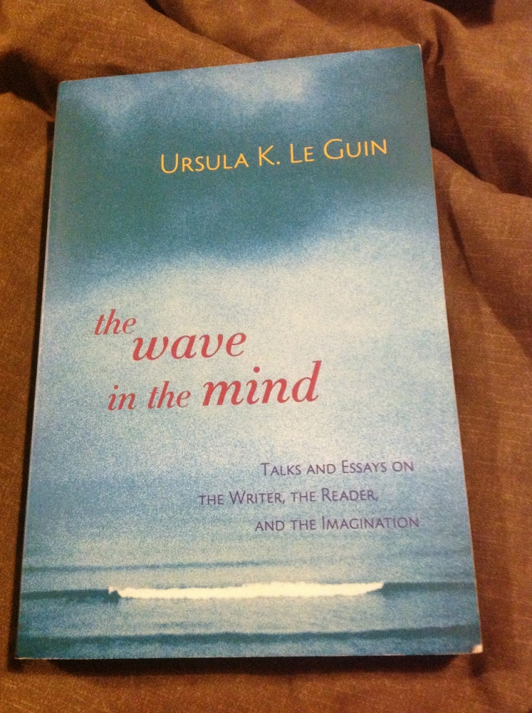 L is for... Le Guin on Writing (The Wave in the Mind) (Book) #AtoZChallenge (2/4)