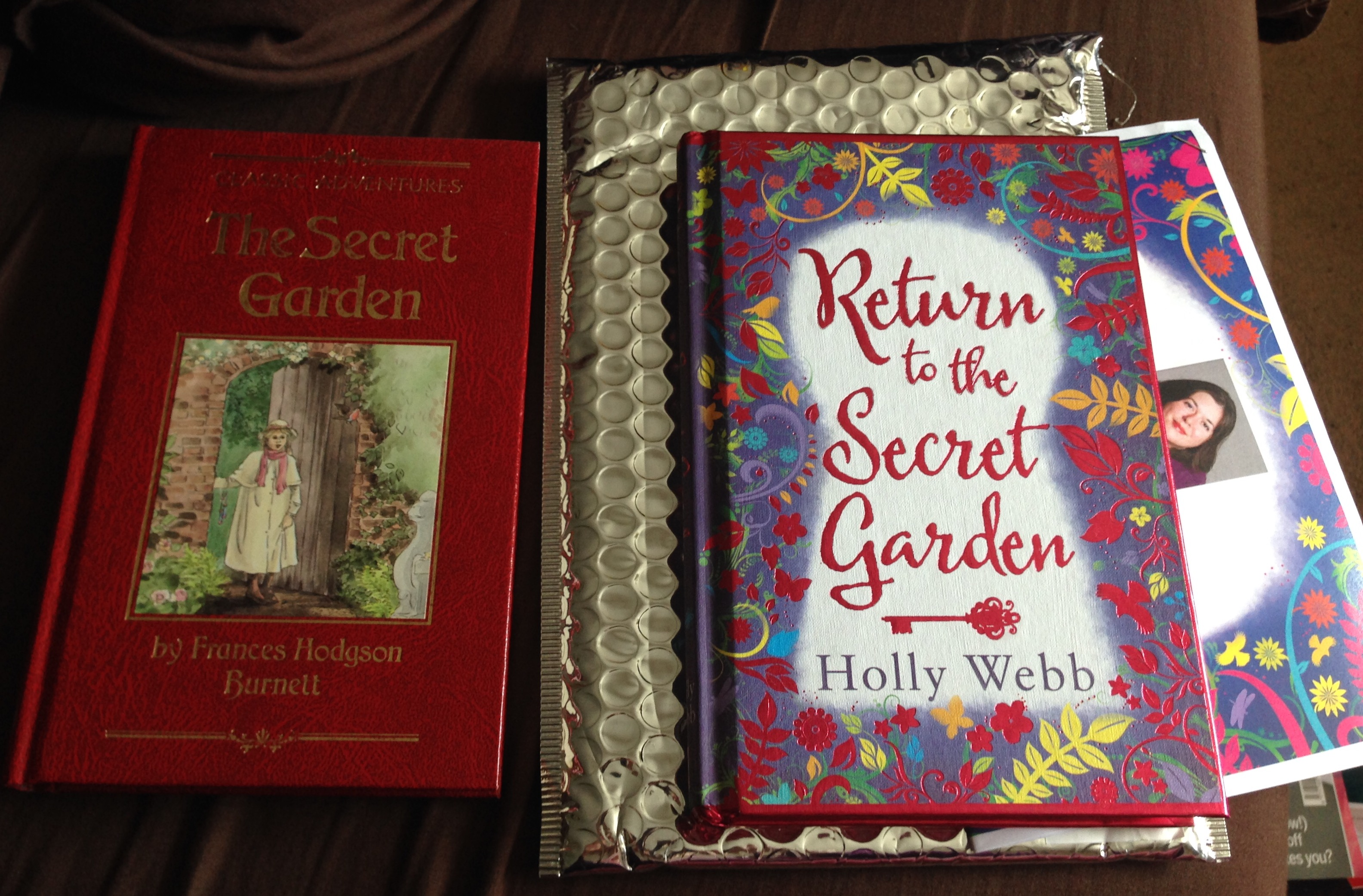 Return To The Secret Garden By Holly Webb Book Review Blog Tour Kirstyes