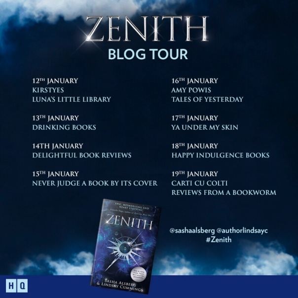This post is part of the Zenith blog tour. Do check out the other stops.