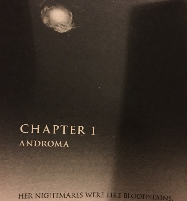 Very spacey chapter headers