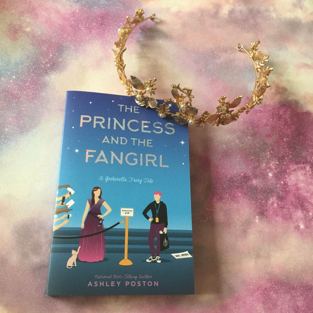 Image   Princess and the Fangirl cover and crown