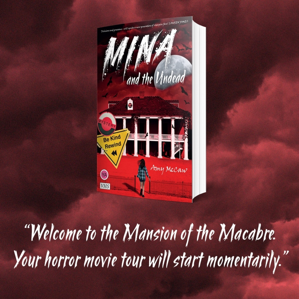 "Book  Quote ""Welcome to the Mansion of the Macabre, your horror movie tour will start  momentarily """