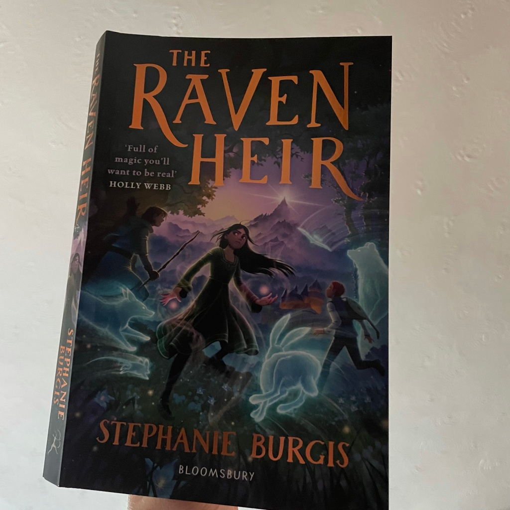 The Raven Heir book cover